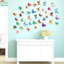 Small Picture Aliexpresscom Buy Big butterfly flowers vinyl wall stickers