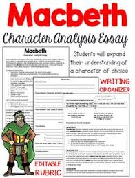 macbeth revision material for aqa litb spec secondary macbeth  looking for a writing activity that involves in depth character analysis this essay assignment
