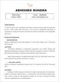 Resume Summary Samples For Freshers Kantosanpo Com