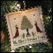 Christmas Tree Cross Stitch Chart Oh Christmas Tree Sampler Tree Cross Stitch Chart