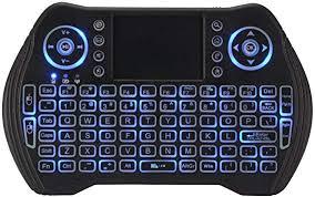 Kreema <b>MT10</b> 2.4GHz Mini <b>Wireless Keyboard</b> Touchpad LED Color ...