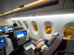 Lufthansa Flight 425 Seating Chart Review Of New Lufthansa Business Class Airbus A350 Once In
