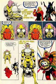 infinity watch. adam warlock wielder of the infinity gauntlet, course attempts to bend fabric reality escape hold living tribunal letting loose with watch