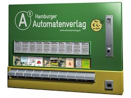 Book Vending Machine For Sale Fascinating Hamburger Automatenverlag Book Vending Machines COOL HUNTING