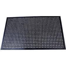 commercial kitchen mats. Comfort Mat Black 3 Ft. X 5 Rubber Kitchen Commercial Kitchen Mats