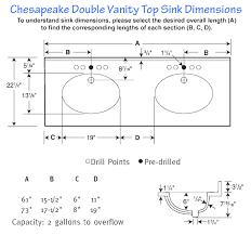 bright inspiration double sink dimensions bathroom swanstone sinks vanity standard