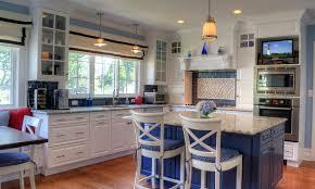coastal kitchen ideas. A Coastal Kitchen In Montclair Traditional-kitchen Ideas