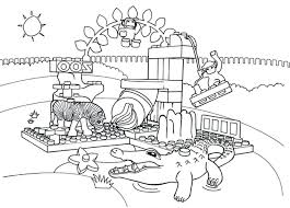 Zoo Coloring Pages Kids Printable Zoo Coloring Pages Free Realistic