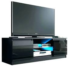 tv stand with 3 glass shelves 3 shelf stand stand glass shelves cabinet black gloss door