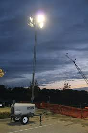 Road Construction Lights Balloon Vs Light Tower When Diffused Light Is Better