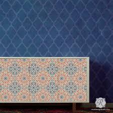 Image Lanterns Zahara Moroccan Furniture Stencil Paintings Wordpresscom Moroccan Stencils Moroccan Geometry Stencil