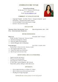 Free Download Resume Format For Fresher Teachers Create