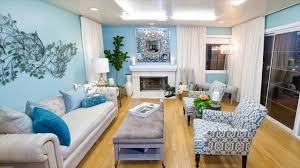 Light Blue Room Paint Decor White Light Design Brown Living Color Colour Wall