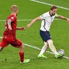 England star's penalty vs Denmark ...
