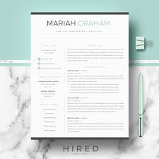 Free Modern Executive Resume Template Free Modern Resume Template Free Design Resources Contemporary