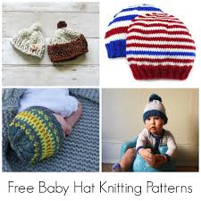 Free Knitting Patterns For Baby Hats Magnificent Decorating