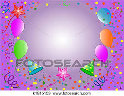 Happy Birthday Background Images Drawing Of Happy Birthday Background K1815153 Search Clipart