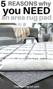 area rug pad reviews why you need an area rug pad and the best one for hardwood floors ruggable