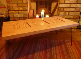 Beech Coffee Table Carved Beech Coffee Table Robin Sterling