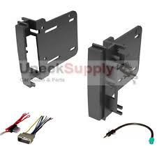 dodge double din dash kit double din dash kit for after market radio install wire harness antenna fits
