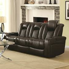Recliners With Cup Holders Coaster Casual Power Reclining Sofa  Storage Console And Port Recliner Holder C13