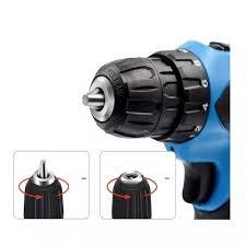 Máy khoan mini cầm tay để tháo và vặn ốc vít Kèm 2 Pin Trâu thuộc bộ sp Máy  bắn vít điện Máy khoan bê tông pin Máy khoan pin hàng bãi