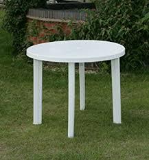 white outdoor patio furniture. 90cm white resin patio table outdoor furniture e