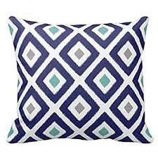navy and grey throw pillows. Interesting And Navy Blue Aqua And Grey Diamond Pattern Design Decorative Throw Pillow Case  Cover Square 18 X To And Pillows W