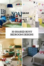 Shared bedroom ideas for small rooms can be limited. 30 Awesome Shared Boys Room Designs To Try Digsdigs