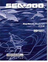 seadoo d rfi shop manual pdf 2004 seadoo 3d rfi shop manual