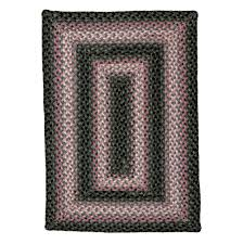 homespice decor oleander cotton braided rug 20 x 30 rectangle grey rugs carpets best canada