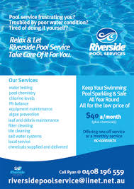pool service flyers. Flyer Design By JB For This Project | Design: #658680 Pool Service Flyers F