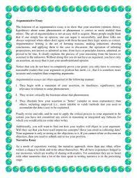 counter argument essay examples argumentative essay outline example