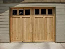 big build swing open garage doors