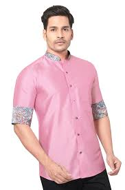 Designer Party Wear Shirts India Party Wear Silk Shirt For Men Party Wear Art Silk Shirt