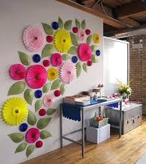 party wall decorations giant paper flowers what a fun wall party city wall decorations party wall decorations