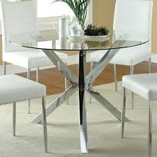 how to make a round table base best glass round dining table ideas on pertaining to