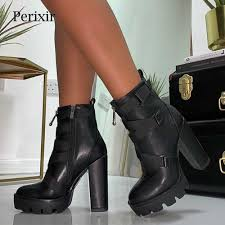 <b>2019 Spring New</b> Flock <b>Leather</b> Women Over The Knee Boots Sexy ...
