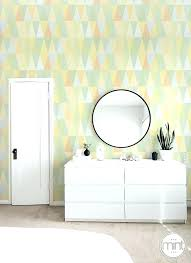 temporary wall coverings pastel triangle wallpaper pale covering self wallpa
