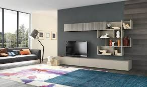 Small Picture Living room Modern Living Room Design With Modern Wall Unit Also