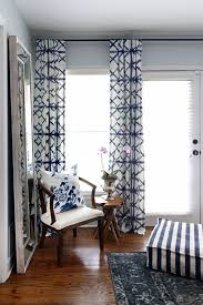 one room challenge master bedroom makeover by hunted interior blue bedroom shibori dry panels window treatments for nursery