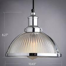 industrial bowl shade pendant light