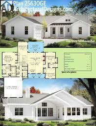 modern farm house plans luxury plan ge e story farmhouse plan