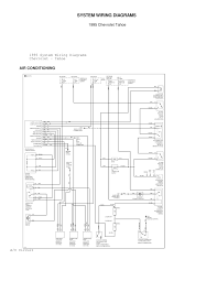1995 chevrolet tahoe system wiring diagrams air conditioning 1995 chevrolet tahoe system wiring diagrams air conditioning circuits