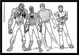Più Adatto Per I Bambini Spiderman Da Colorare E Stampare