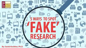 Infographic Five Spot Ways Fake To Research qqgva6