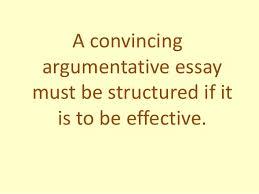 argumentative essay structure argumentative essay structure 2