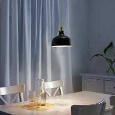 ranarp pendant lamp black ikea