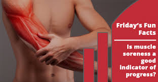 is muscle soreness a reliable indicator