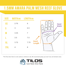 Dive Glove Size Chart Tilos 1 5mm Tropical Dive Gloves For Men Women Kids Upf50 Stretchy Mesh With Amara Leather For Paddling Kayaking Water Jet Skiing Sailing
